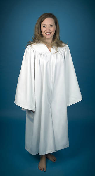 Culotte baptismal robes for women