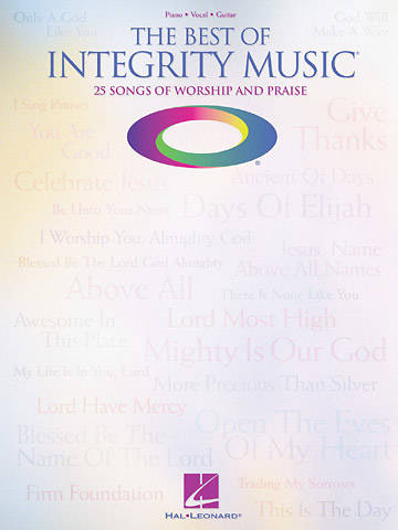 The Best of Integrity Music Songbook