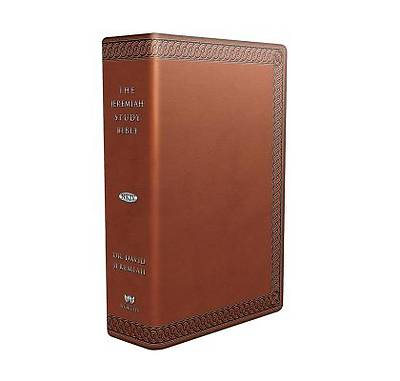 Picture of The Jeremiah Study Bible Leatherluxetm (Brown W/ Burnished Edges)