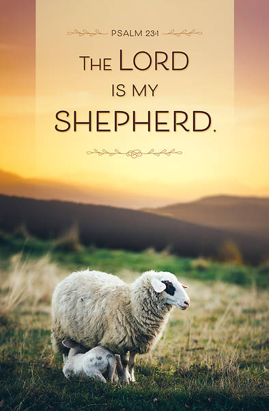 Picture of The Lord is My Shepherd General Regular Size Bulletin