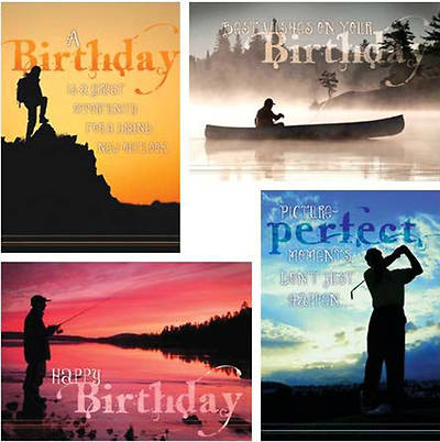 Grand Adventures - Birthday Boxed Cards - Box of 12