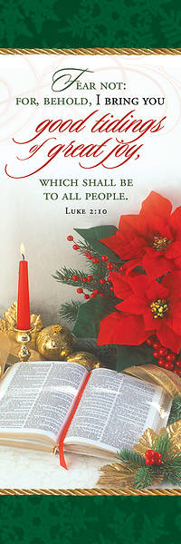 Good Tidings of Great Joy Christmas Bookmark