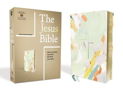 Picture of The Jesus Bible, ESV Edition, Leathersoft, Multi-Color/Teal