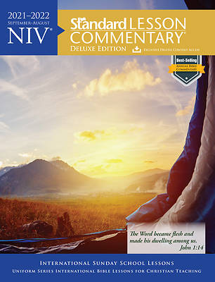 Picture of NIV Standard Lesson Commentary Deluxe 2021-2022