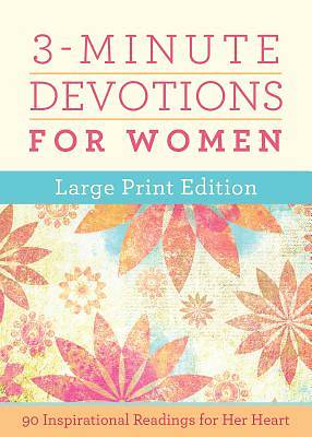 Picture of 3-Minute Devotions for Women Large Print Edition
