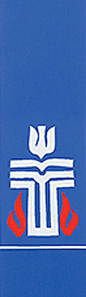 Picture of Presbyterian Logo Blue Stole