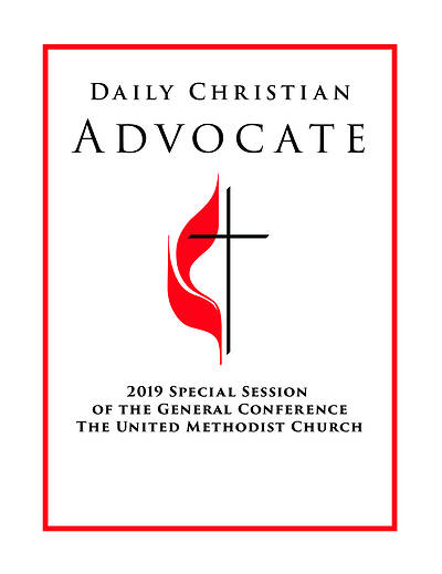 2019 Daily Christian Advocate English Volumes 2 & 3 MAILED AFTER GENERAL CONFERENCE