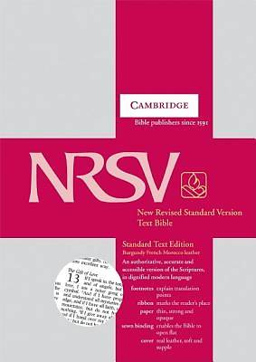 Standard Text New Revised Standard Version Bible
