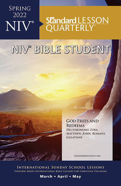 Standard Lesson Quarterly Adult NIV Bible Student Book Spring 2018