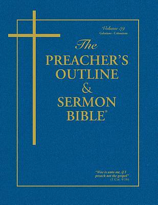 Picture of Preacher's Outline and Sermon Bible-KJV-Galatians-Colossians