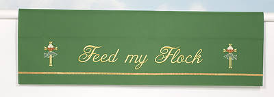 Picture of Word Series Green Oridnary Altar Frontal