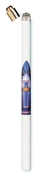 Disposable Cell Liquid Wax Paschal Candle