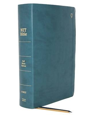 Picture of Net Bible, Full-Notes Edition, Leathersoft, Teal, Comfort Print