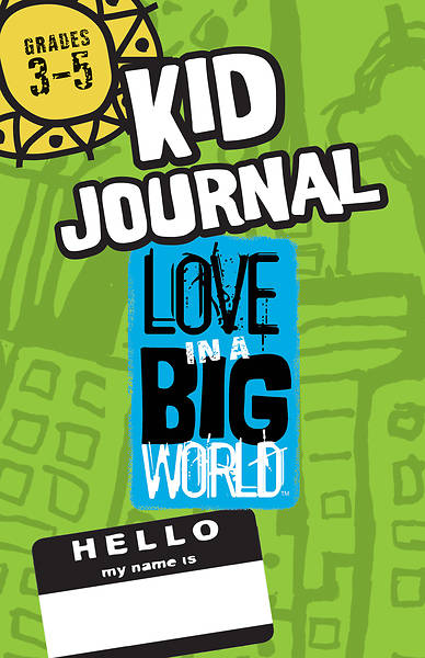 Picture of Love in a Big World Six Session Gr 3-5 Journal
