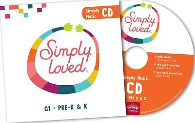 Picture of Simply Loved Q1 PreK-K Music CD