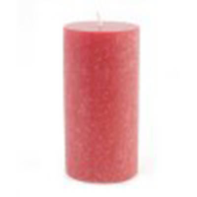 "Advent Wreath Pillar Candle Rose 4"" x 9"""