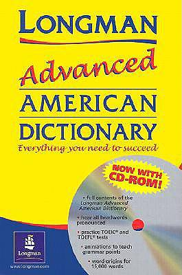 Picture of Longman Advanced American Dictionary & CD with CDROM