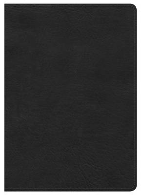 Picture of KJV Large Print Compact Reference Bible, Black Leathertouch