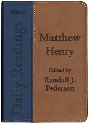 Picture of Matthew Henry Daily Readings