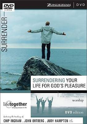 Surrendering Your Life for Gods Pleasure DVD