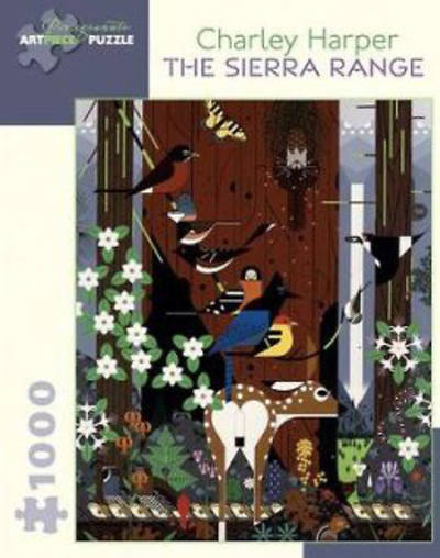 1,000-Piece Puzzle Harper/The Sierra Range
