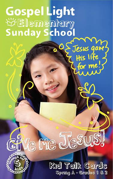 Picture of Gospel Light Grade 1-2 Talk Cards Spring Yr A