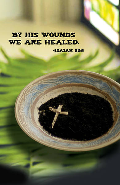 Picture of By His Wounds Lenten Bulletin (Pkg of 50)