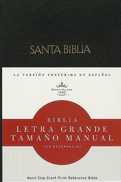Picture of Rvr 1960 Biblia Letra Grande Tamano Manual, Negro Tapa Dura Con Indice