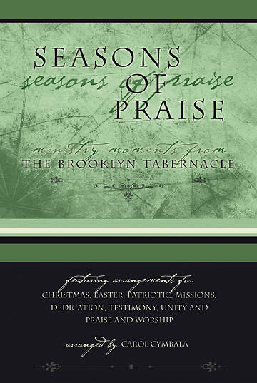 Seasons of Praise Choral Book