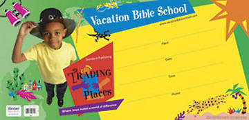 Standard Vacation Bible School 2006 Trading Places Community Poster VBS