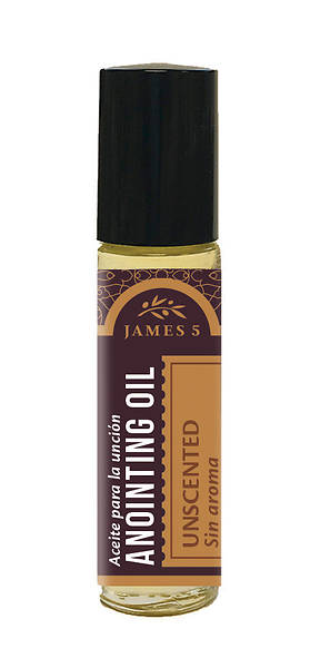 James 5 Unscented Roll on Anointing Oil - 1/3 oz.
