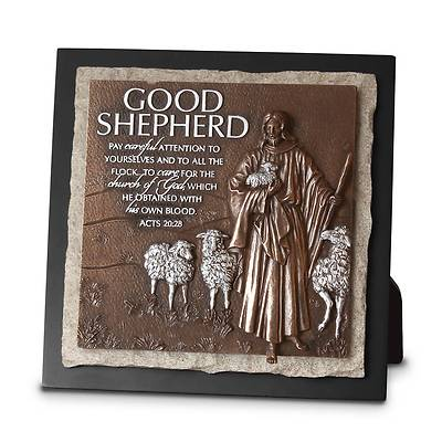 Good Shepherd Plaque Ministry Edition