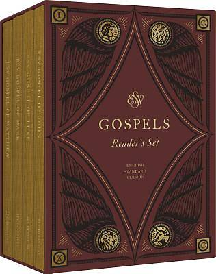 ESV Gospels, Reader's Set (Cloth Over Board)