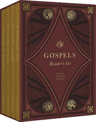 Picture of ESV Gospels, Reader's Set (Cloth Over Board)