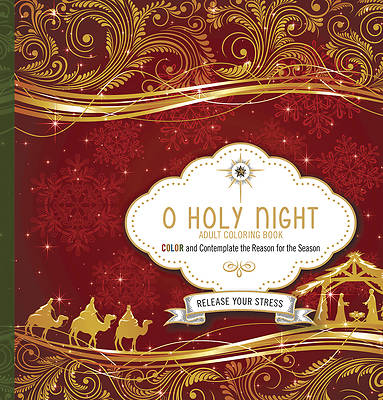 Picture of O Holy Night Adult Coloring Book