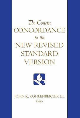 Picture of The Concise Concordance to the New Revised Standard Version