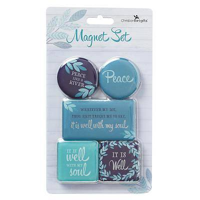 Picture of Magnet Set It Is Well