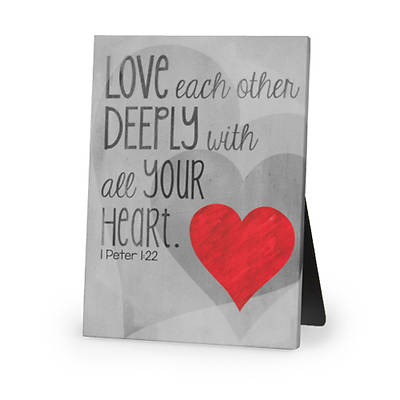 Love Deeply Plaque