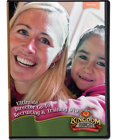 Group Vacation Bible School 2013 Kingdom Rock Ultimate Director Go-To Recruiting & Training DVD