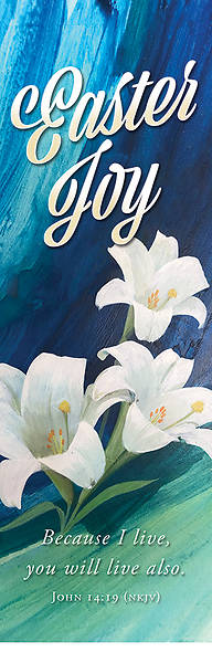 Picture of Easter Joy 2' x 6' Fabric Banner