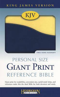 Personal Size Giant Print Reference Bible-King James Version