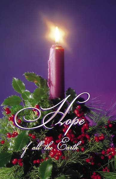 Advent Week 1, Hope Bulletin Regular (Package of 100)