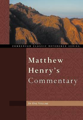 Matthew Henrys Commentary in One Volume