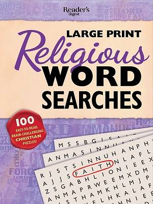 Picture of Reader's Digest Large Print Religious Word Search