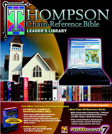 WordSearch 7.0 Thompson Chain-Reference Leaders Library