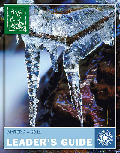 Picture of Living the Good News Winter Leader's Guide - 2010 Preschool/Kindergarten [Ages 4,5]