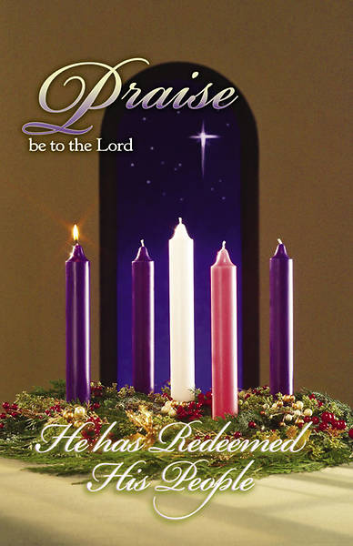 Advent Week 1/Praise Bulletin, Regular (Package of 100)