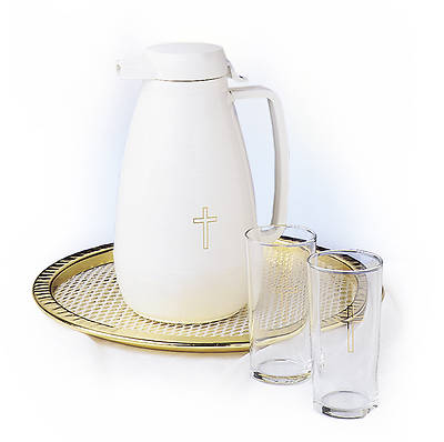Contemporary Plastic Water Serving Set
