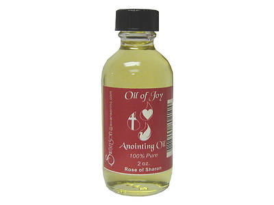 Picture of Oil of Joy 2 Oz. Rose of Rose Anointing Oil