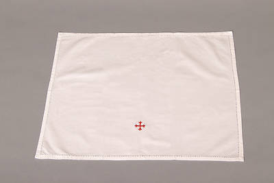 Picture of 100% Cotton Lavabo Towel with Red Cross - Pack of 3